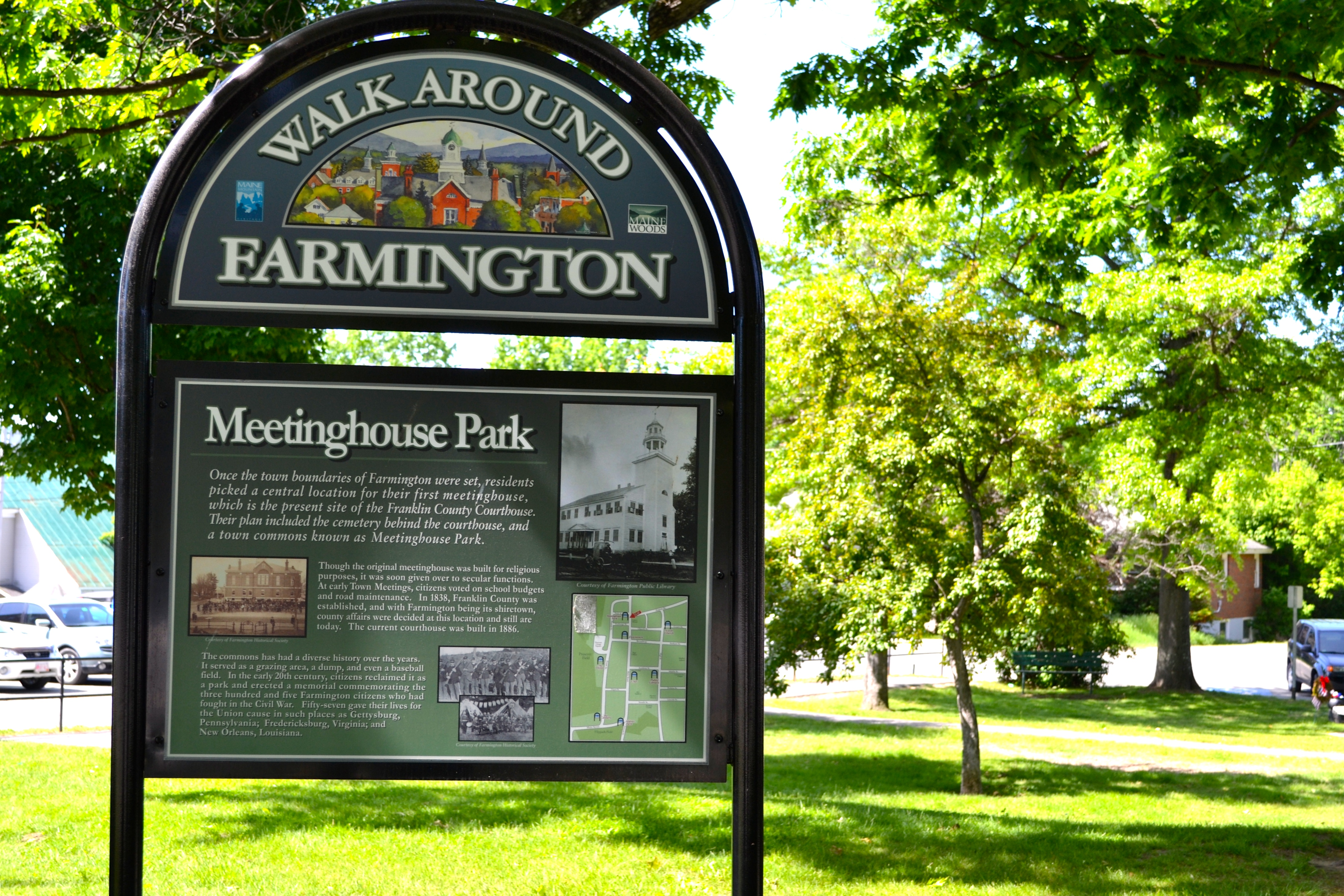 Meetinghouse Park Sign