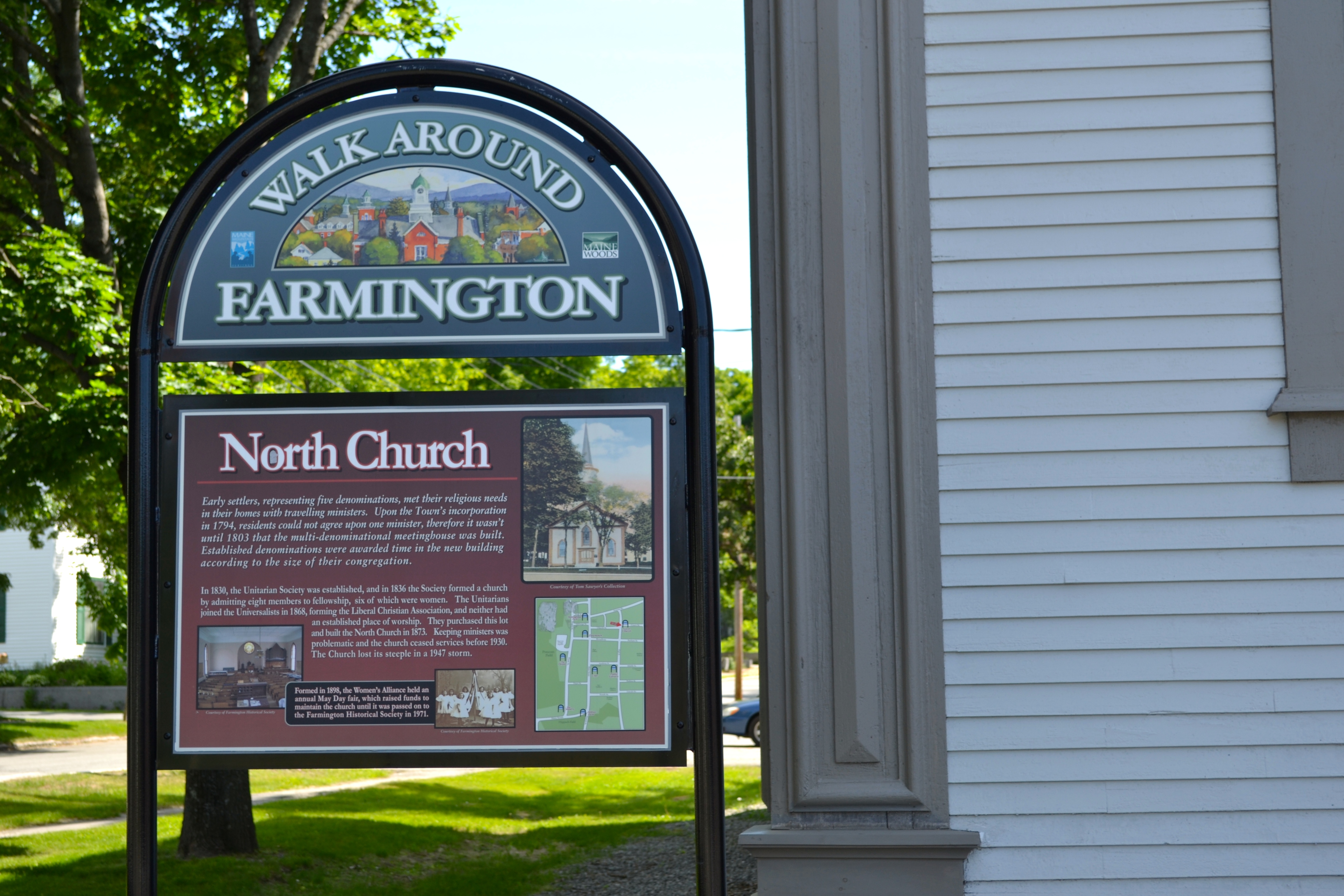North Church Sign
